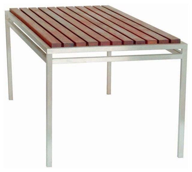 Modern Outdoor - Talt 6' Table - Modern - Patio Furniture And Outdoor Furniture - by 2Modern