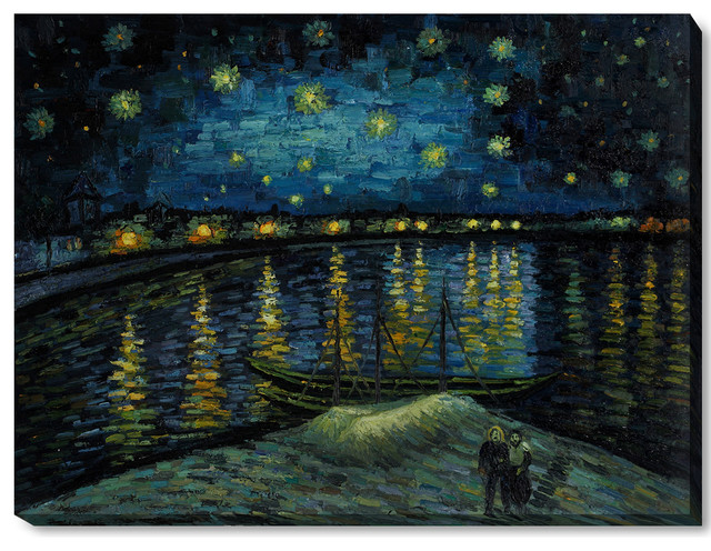 starry night over the rhone essay A starry night reveals much passion, effort, emotions, and the great amount of  time vincent  vincent van gogh's  a starry night is an oil on canvas painting.