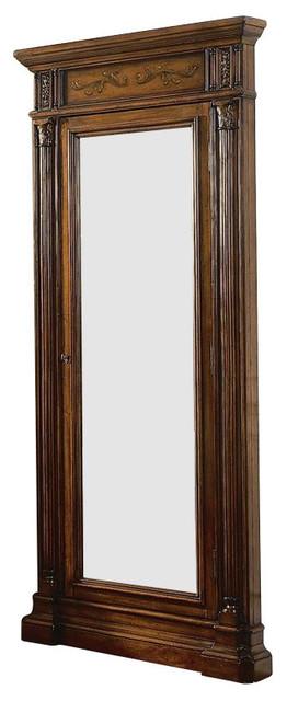 Hooker Furniture Seven Seas Floor Mirror with Jewelry ...