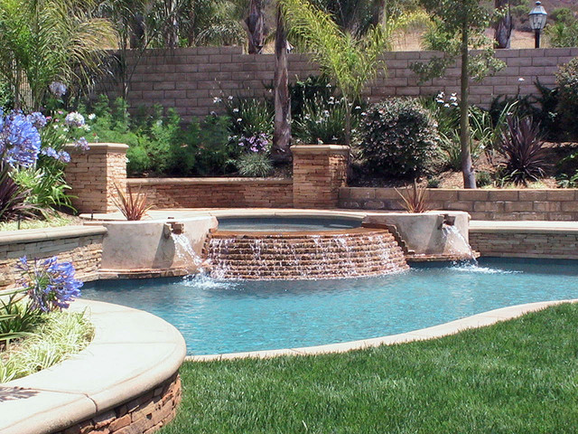A residential pools - Residential swimming pool designs ...