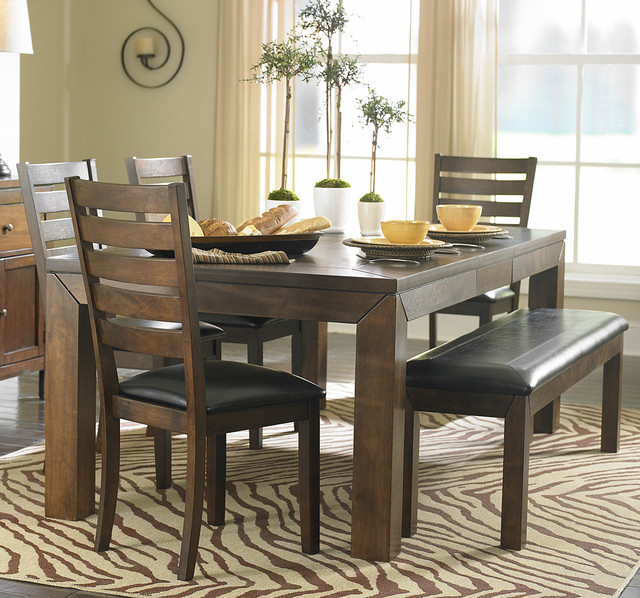 Homelegance eagleville 82 inch butterfly leaf dining table for Eagleville pool and spa