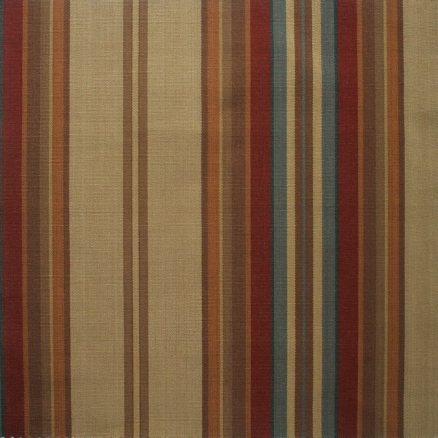 72 Shower Curtain Unlined Carlton Stripe Cardinal Red