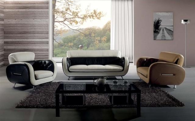 Madali Classic Leather Sofa Set Modern Living Room Furniture Sets By De