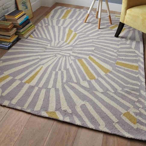 Swirl Rug Contemporary Rugs By West Elm