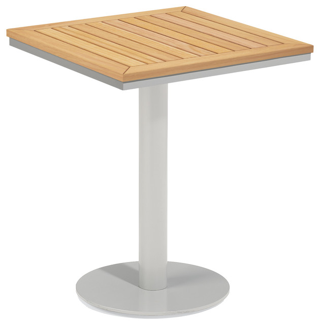 Travira 24 Square Bistro Table Contemporary Garden Bistro Tables