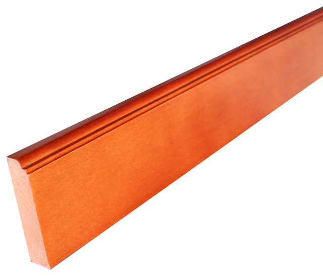 """96"""" Base Cabinets Ogee Molding, Cinnamon Shaker - Modern - Molding And Trim - by BuyCabinetDirect"""