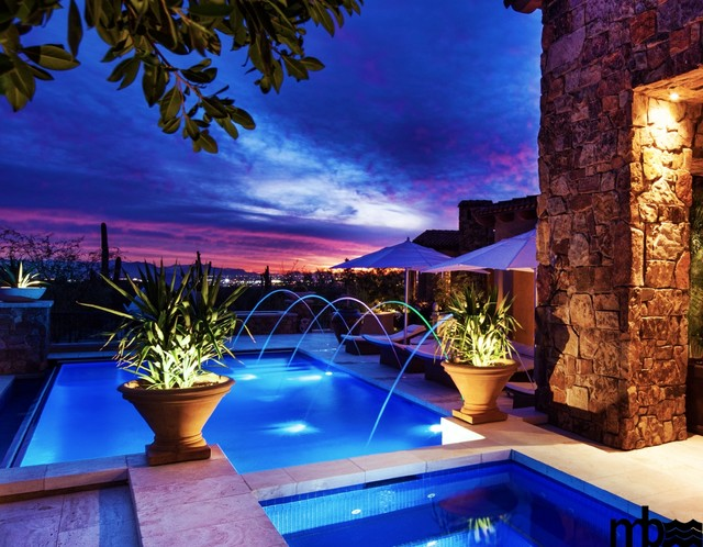 Straight line pools by mossman brothers pools