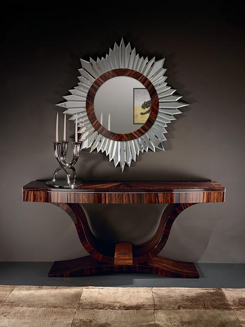 میز کنسول و آینه مدرن