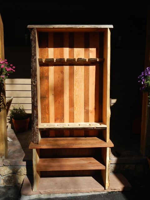 Custom Gun Cabinet - Rustic Cabinet for Cabin - Rustic - Furniture - other metro - by Sundial ...