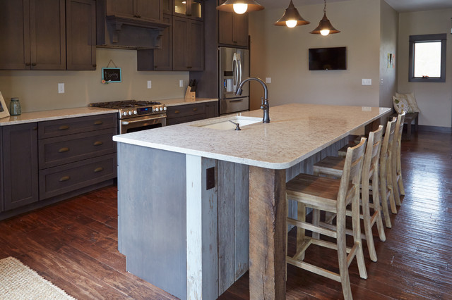 Large Kitchen Island With Seating For Four