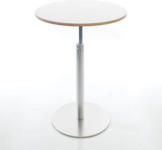 brio 73 100 bistrotisch 60cm h henverstellbar bauhaus look barm bel sets von. Black Bedroom Furniture Sets. Home Design Ideas