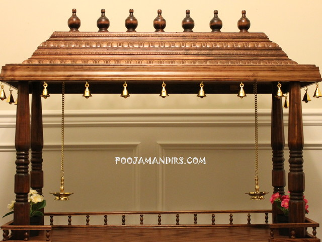 Traditional indian furniture design - Custom Pooja Mandirs Traditional Raleigh By Custom Pooja Mandirs
