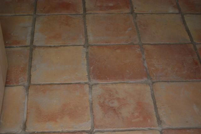 Spanish terracotta tiles for Spanish tile bathroom floor