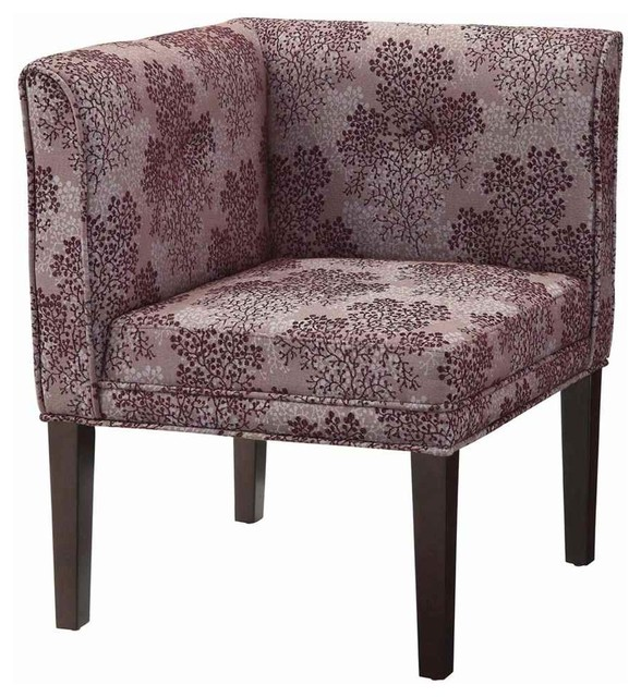 Upholstered Corner Chair Contemporary Armchairs And