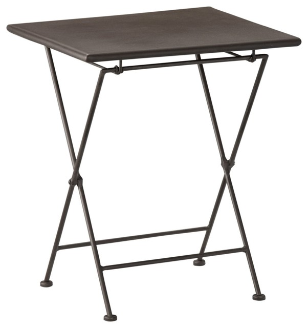 Iron table d 39 appoint pliante contemporary side tables - Table d appoint pliante ikea ...