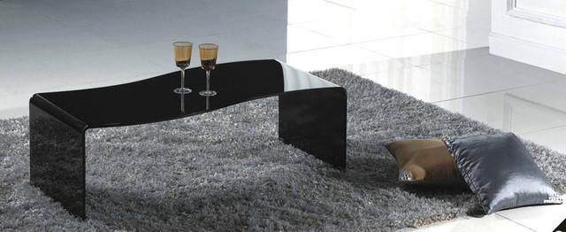 black modern coffee table 1