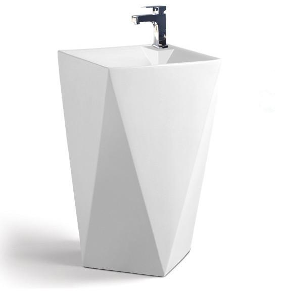 Maccione Modern Bathroom Pedestal Sink Vanity 20 1