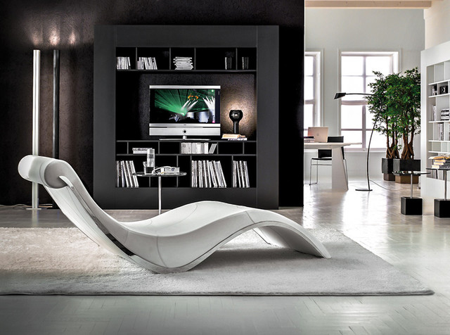 Sylvester Modern Chaise Lounge By Cattelan Italia   $2,950 .