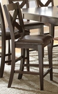 copley counter height x back chair set of 2