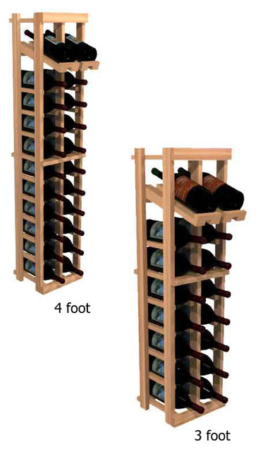 two column with display winemaker series individual bottle