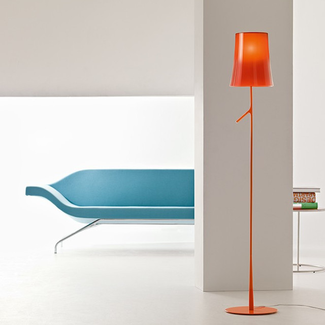 birdie floor lamp with touch dimmer modern floor lamps by. Black Bedroom Furniture Sets. Home Design Ideas