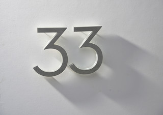 neutra 8 house numbers led illuminated outdoor midcentury house