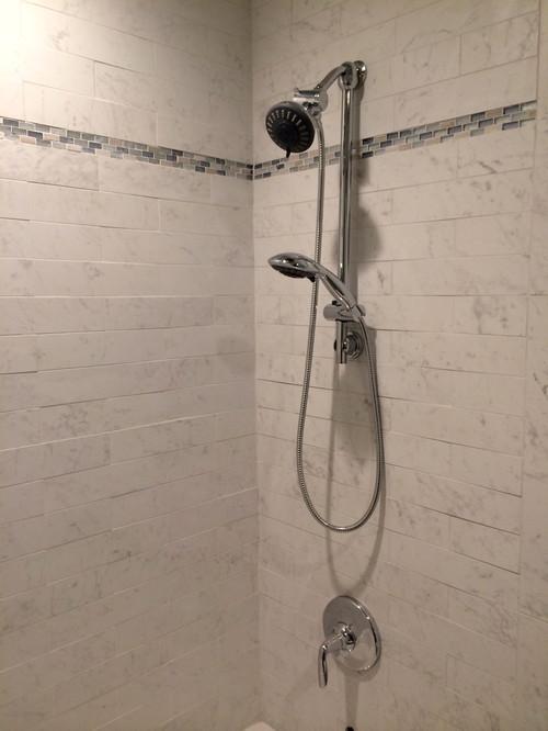 Bathroom Floor Bowing : Bathroom tile bowed and uneven
