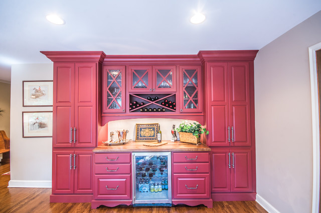 Bright Colorful Kitchen Transitional Indianapolis