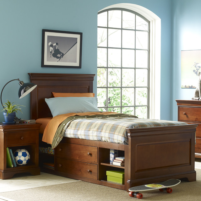 All Seasons Louis Bed Modern Kids Beds By Rosenberry Rooms