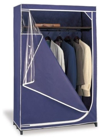 Clearly Visible Jumbo Blanket Comforter Bag Set of 7 - Modern - Clothes Racks - by HoldNStorage