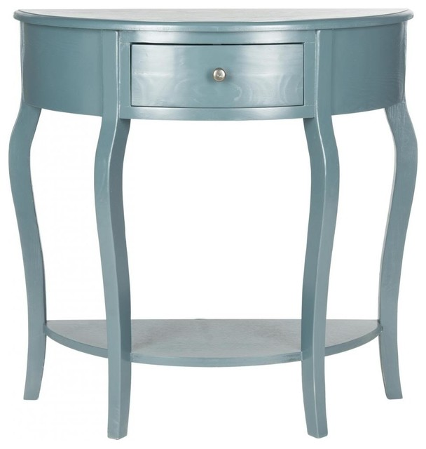 Bailee console transitional console tables by haute - Table haute console ...