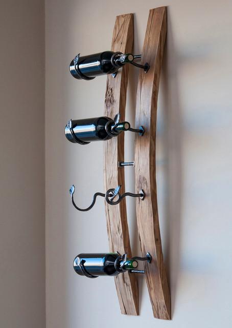 Reclaimed Wood Wine Racks - Rustic - Wine Racks - Other ...