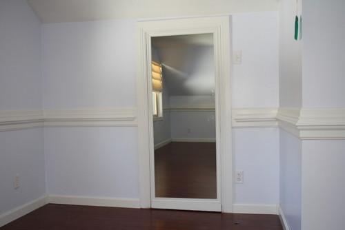 Secret Passage Way Behind Full Length Mirror