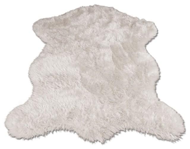 polar bear pelt modern teppiche von amazon. Black Bedroom Furniture Sets. Home Design Ideas