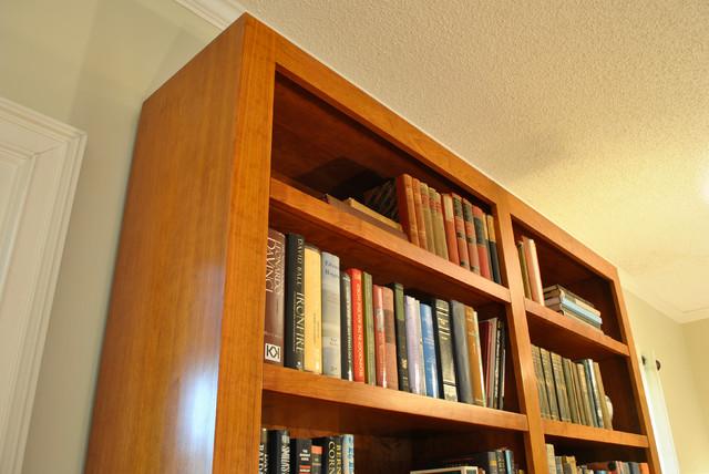 mid century modern bookcase midcentury bookcases atlanta by turner custom furniture. Black Bedroom Furniture Sets. Home Design Ideas
