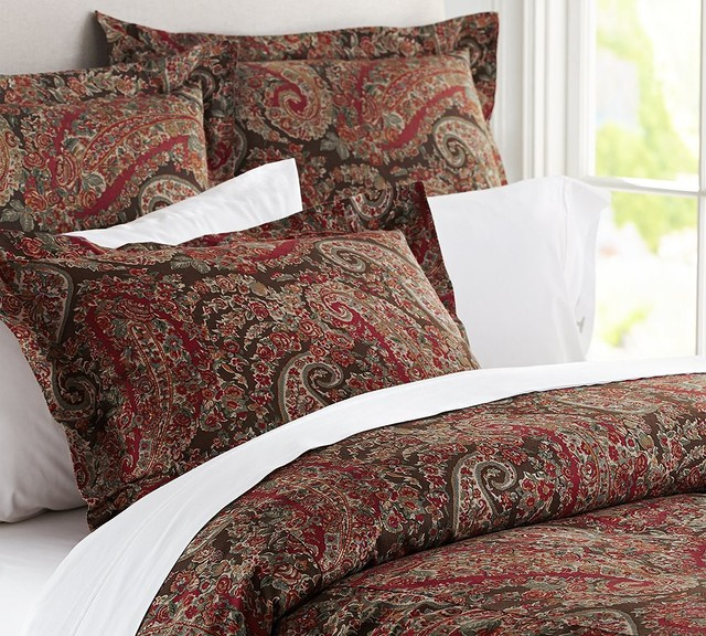 Carrie Paisley Duvet Cover Amp Sham Traditional Duvet