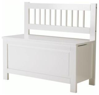 hemnes storage bench skandinavisch sitzb nke mit stauraum von ikea. Black Bedroom Furniture Sets. Home Design Ideas