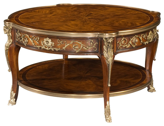 Theodore Alexander Essential Ta A Capital Cocktail Table Victorian Coffee Tables By