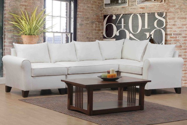 Belle Meade Natural 4 piece Sectional Contemporary