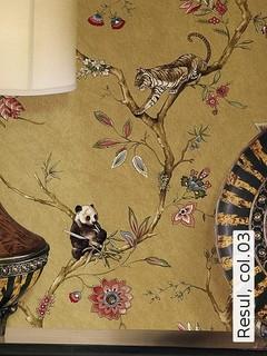 exotische tapeten resul modern tapeten other metro. Black Bedroom Furniture Sets. Home Design Ideas