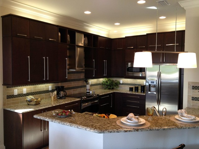 Kitchencraft cabinetry modern kitchen cabinetry for Kitchen cabinets miami