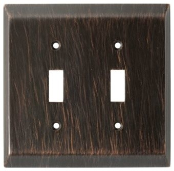 Liberty Hardware 126409 Stately WP Collection 4.96 Inch Switch Plate - Modern - Switch Plates ...