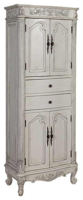 Traditional Linen Cabinet - Traditional - Bathroom Cabinets And Shelves - by Ica Furniture