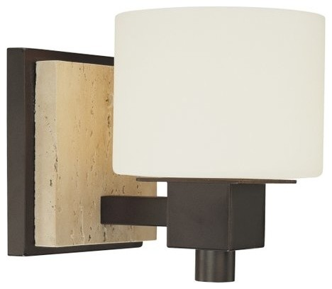 Minka Lavery 6151-244 Travertine 1 Light 6.5