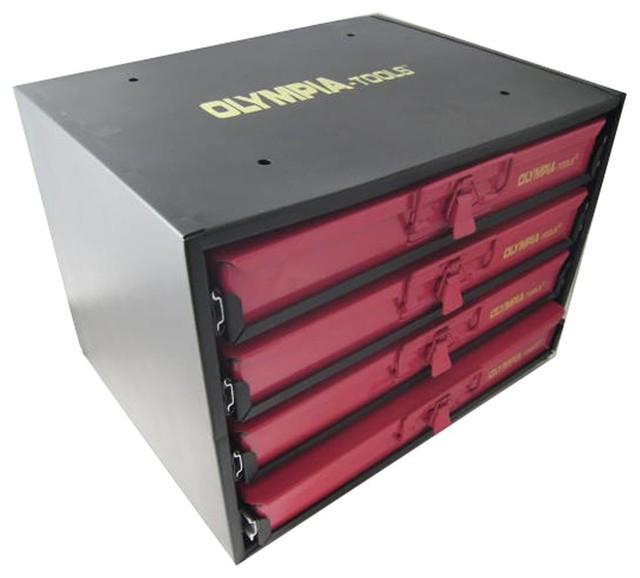4-Drawer Hardware Organizer - Traditional - Garage And Tool Storage - by ShopLadder