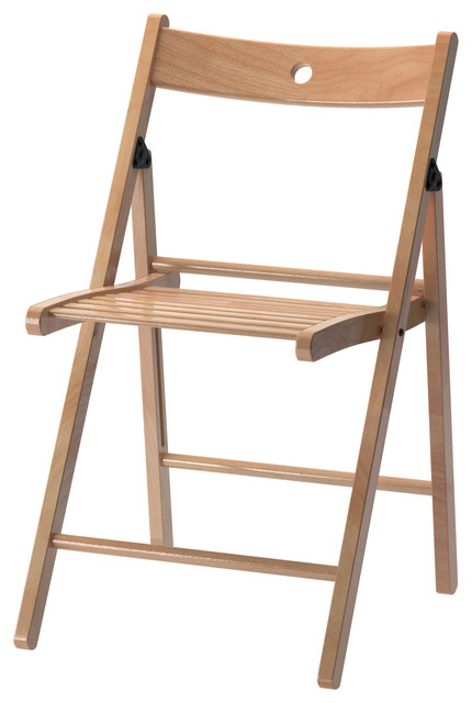 TERJE Folding chair beech Modern Folding Chairs & Stools by Ikea UK