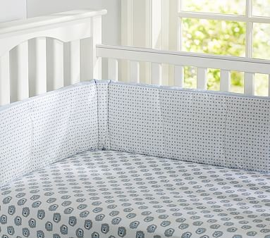 Carson Organic Crib Fitted Sheet Baby Bedding by