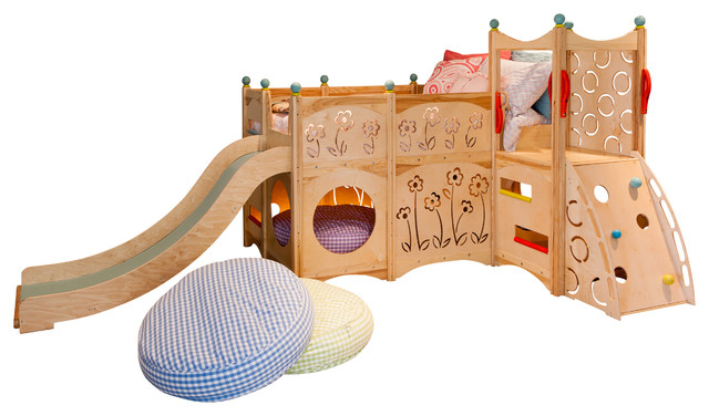 Playbed 529 arts crafts children 39 s beds by cedarworks for Kids craft bed