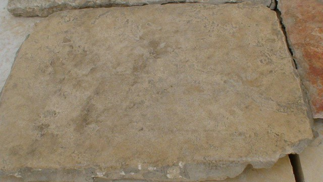 Antique Jerusalem Stone Floor Mediterranean Wall