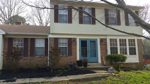 help curb appeal should i paint my brick exterior. Black Bedroom Furniture Sets. Home Design Ideas